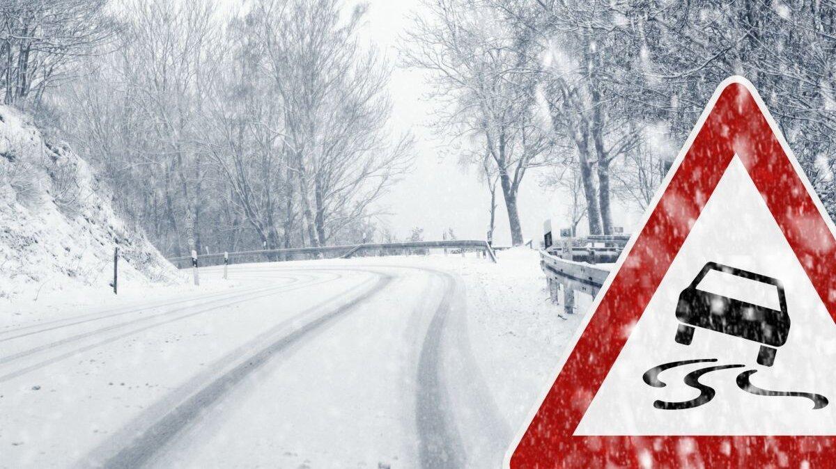 Автолюбителям дали советы по вождению в снег и гололед
