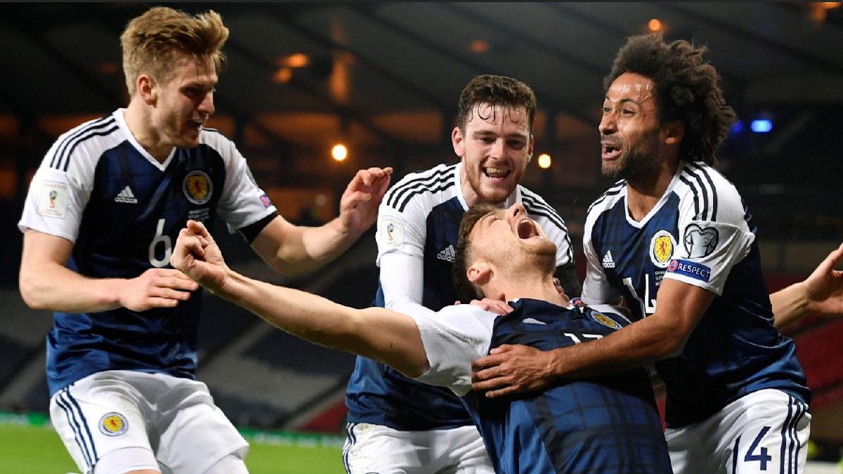 На Евро-2020 вместо России может сыграть Шотландия