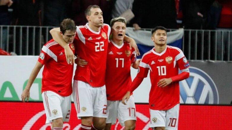 Сборная России выиграла у Сан-Марино в последнем отборочном матче Евро-2020