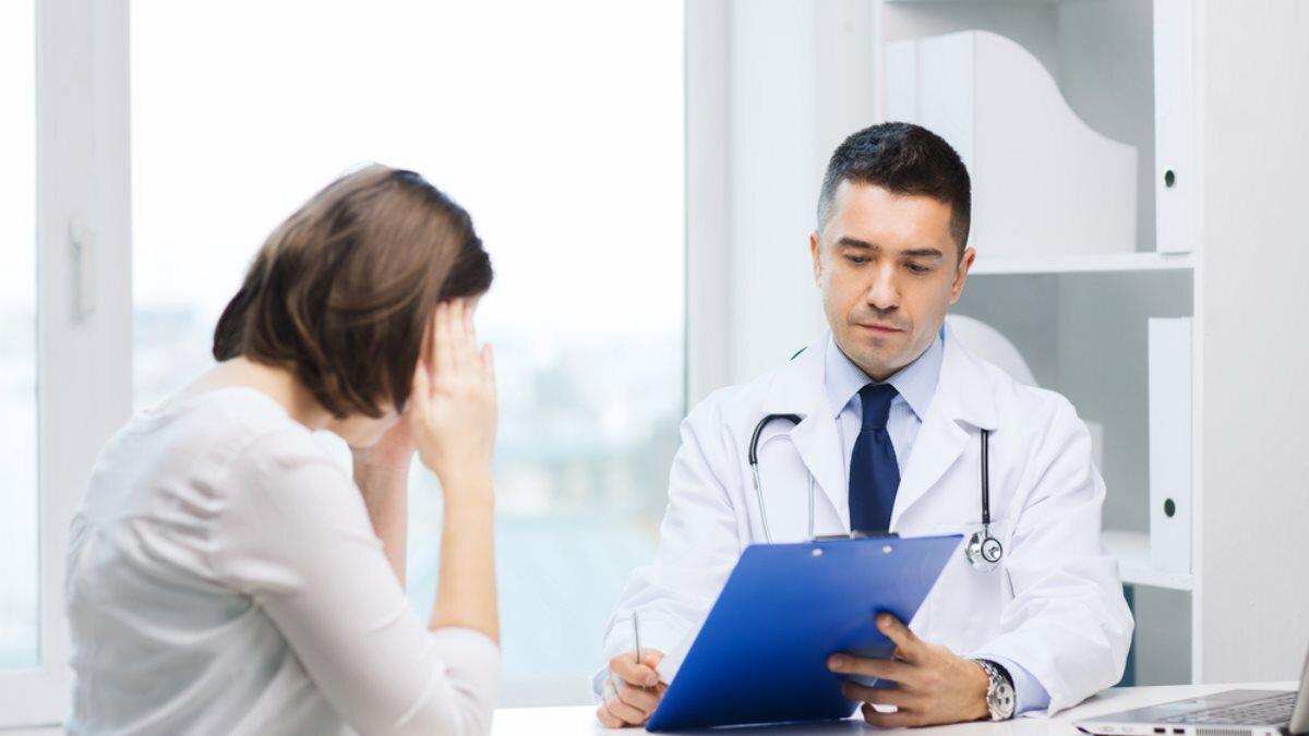 Доктор врач пациентка диагноз болезнь