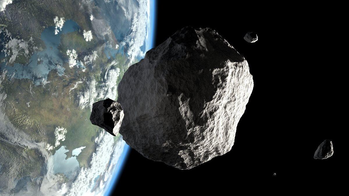 Планета Земля метеорит астероид