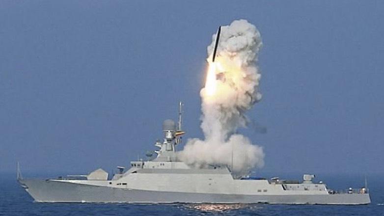 Российский фрегат запустил ракету «Калибр» у берегов Украины
