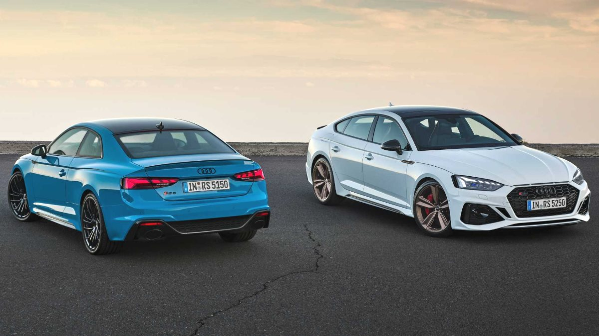 Audi представила обновленные RS5 Coupe и RS5 Sportback