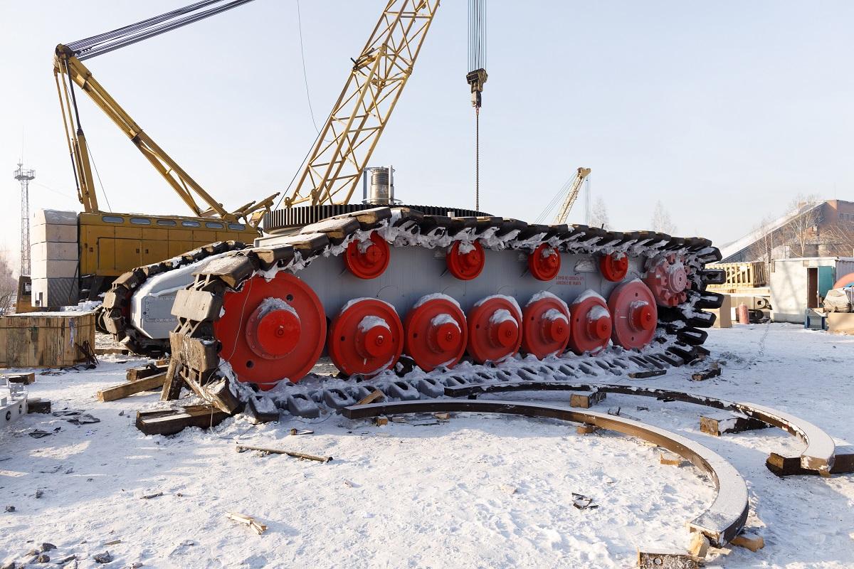 «Кузбассразрезуголь» приобрел первый в России экскаватор ЭКГ-18М