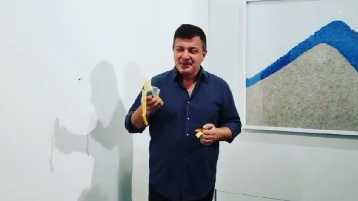 В США художник съел работу своего коллеги стоимостью $120 тысяч
