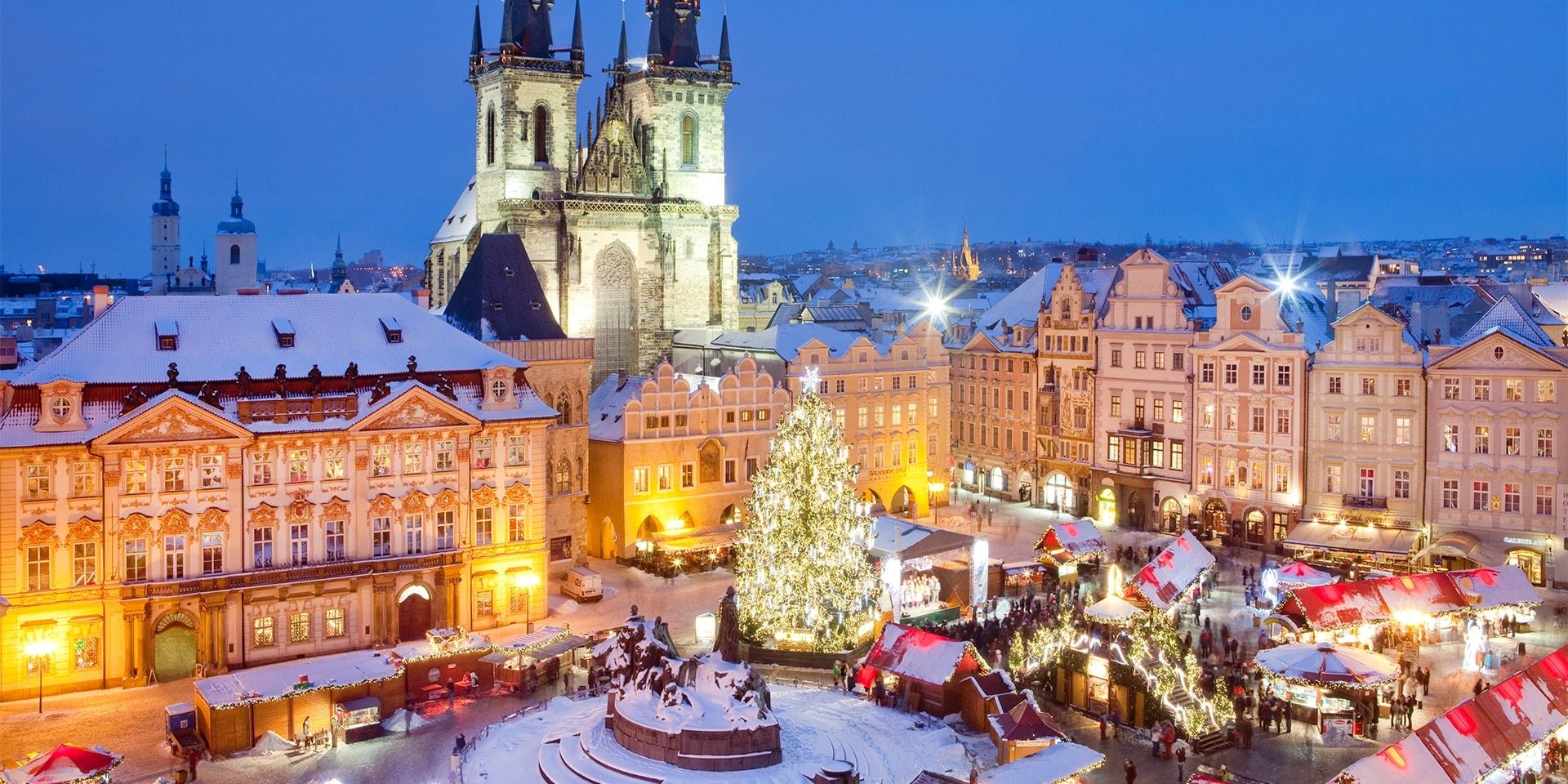 Перечислены самые популярные направления для путешествий на Рождество