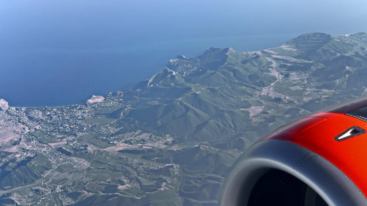 Крым стал самым популярным направлением чартерных авиарейсов