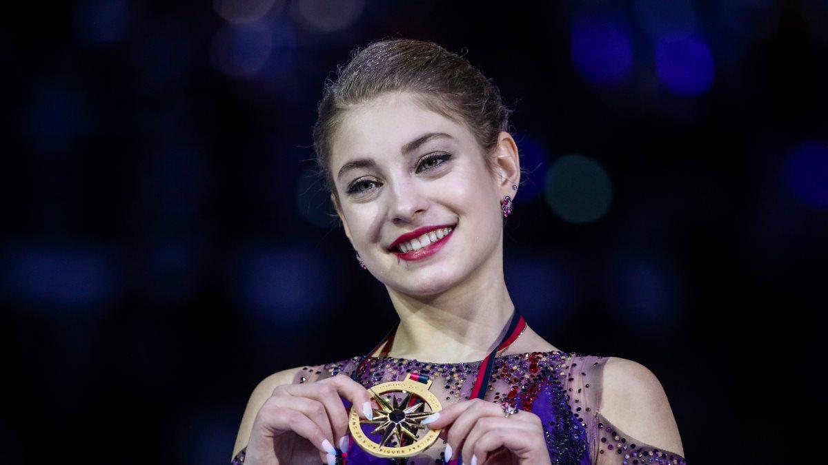 Фигуристка Косторная выиграла финал Гран-при с мировым рекордом