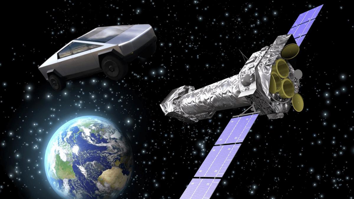 Маска просят запустить Cybertruck в космос