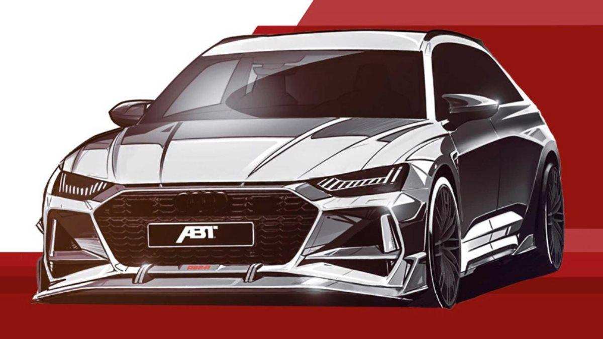 ABT анонсировал появление «заряженного» Audi RS6 Avant