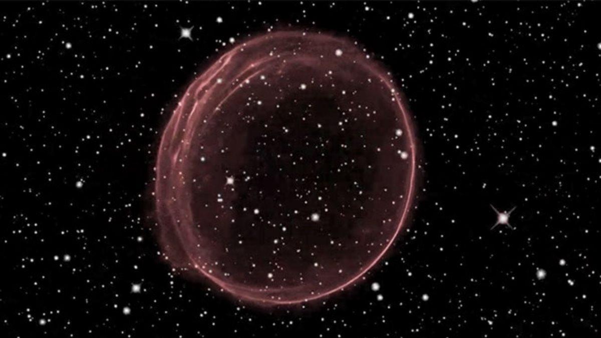 В космосе обнаружили похожий на елочную игрушку объект