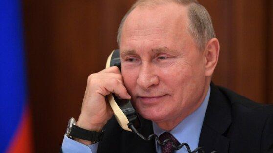 В Кремле раскрыли детали разговора Путина с Трампом и Сальманом