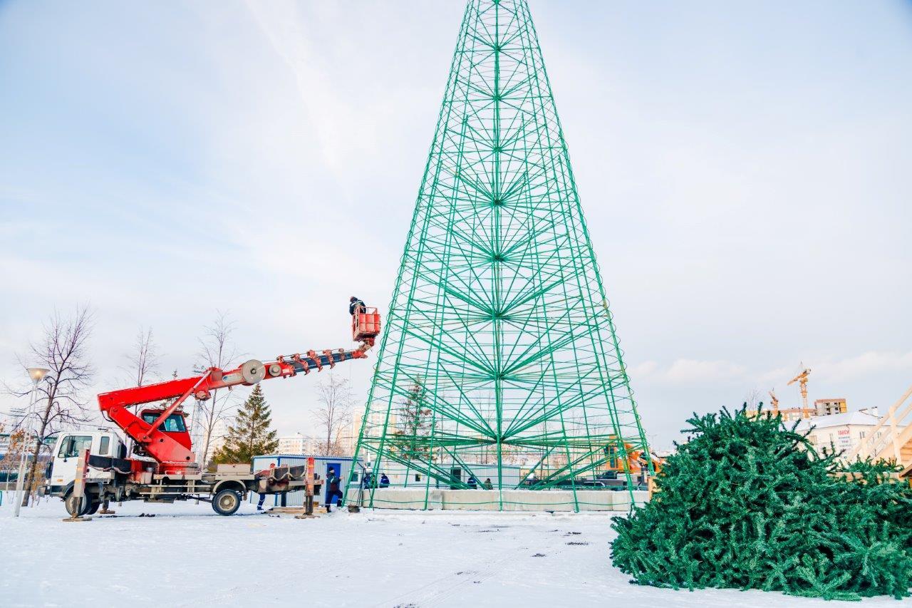 УГМК приступил к строительству ледового городка