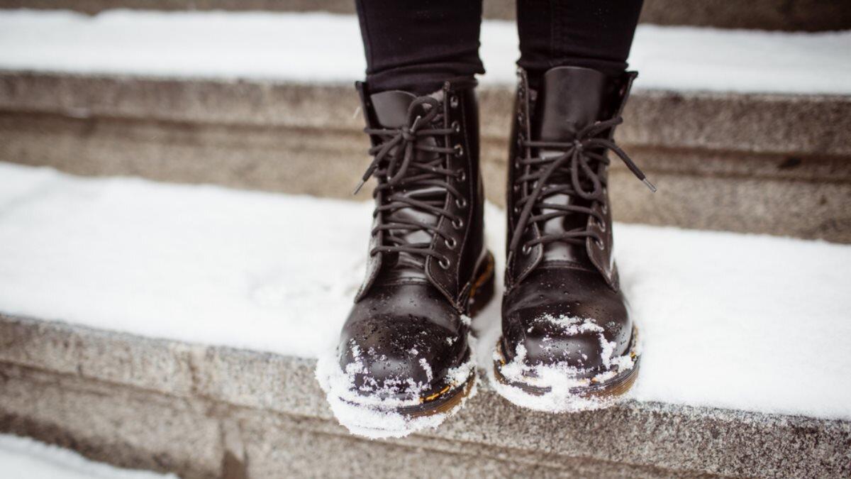 Женские ботинки обувь зима