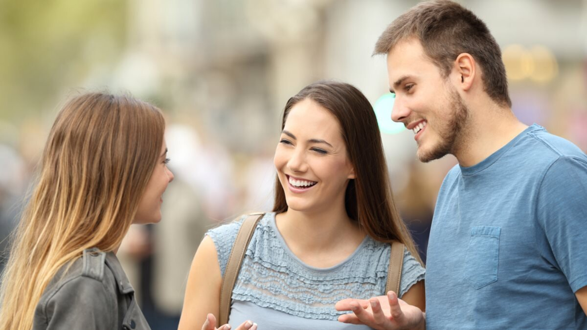 Разговор общение красноречие друзья веселье радость