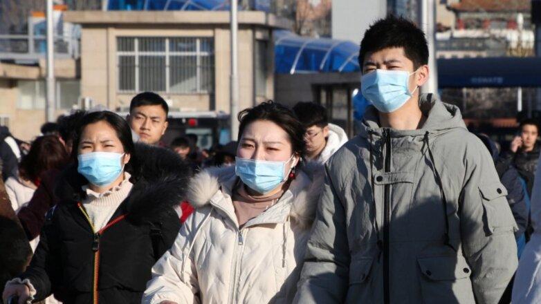 Китай коронавирус эпидемия улица