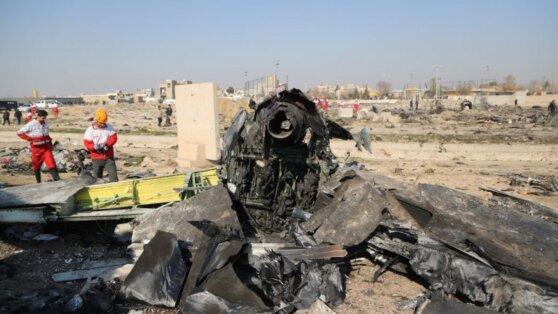 В Киев доставили тела 11 погибших при крушении Boeing в Иране