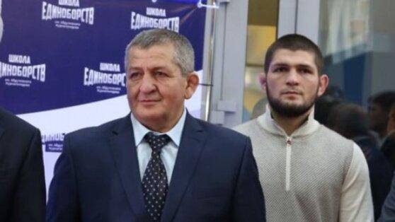 Отец Хабиба анонсировал переговоры об организации боя с Мейвезером