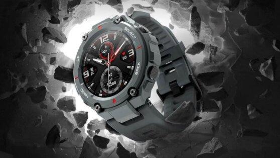 Суперзащищённые смарт-часы Amazfit поступили в продажу
