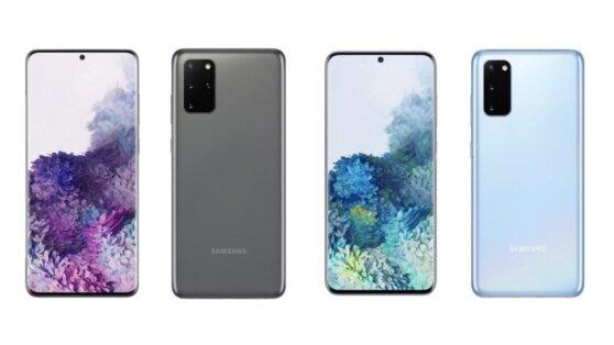 Появились первые официальные изображения новых Samsung Galaxy S20