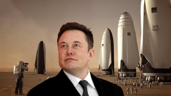 Илон Маск решил переселить на Марс миллион человек
