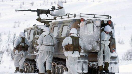 Британская Королевская морская пехота переброшена для учений в Арктику