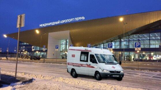 Пассажир с подозрением на коронавирус был госпитализирован в Перми