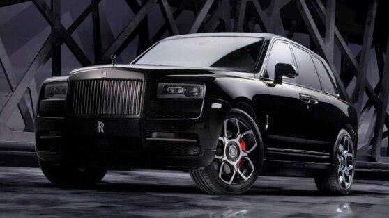 Rolls-Royce Cullinan получил спецверсию в России