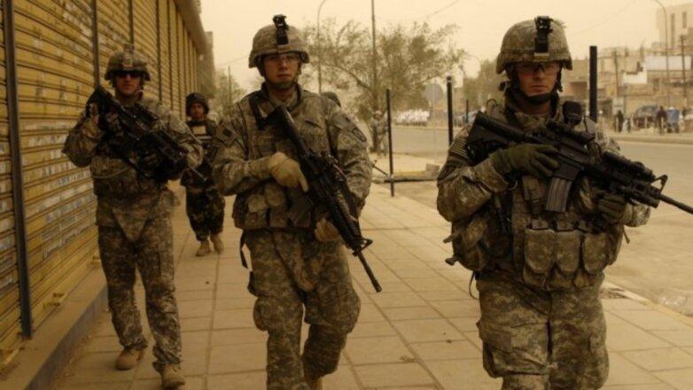 Американские солдаты США Ближний Восток