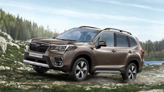 Стала известна стоимость Subaru Forester 2020