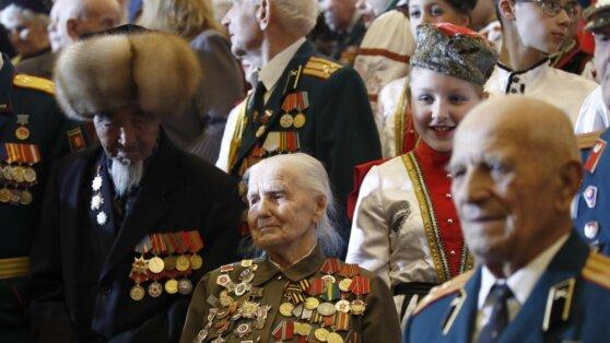 Путин объявил о выплатах ветеранам к 75-летию Победы