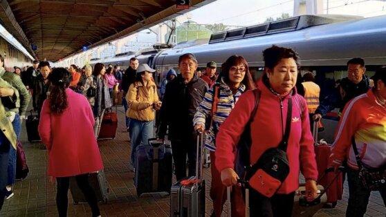 Назван любимый вид транспорта китайских туристов в России