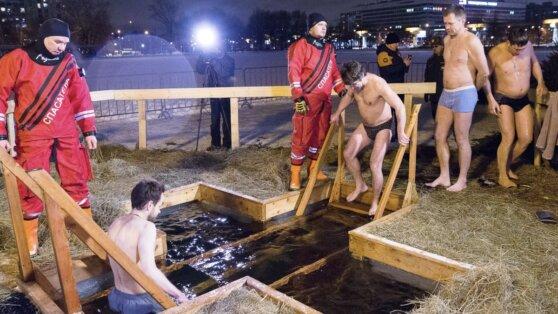 В Роспотребнадзоре предупредили об опасности крещенских купаний