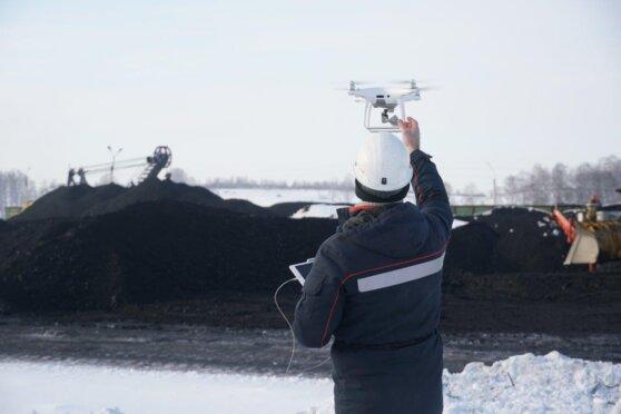 «Кузбассразрезуголь» создает эскадрилью беспилотников