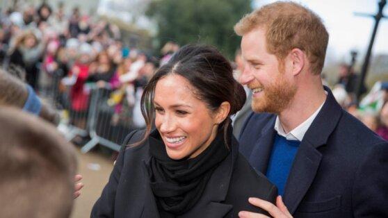 Британцев возмутила охрана Меган Маркл и Принца Гарри