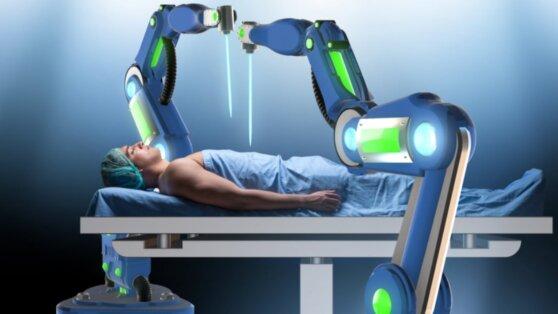 Пациента с подозрением на коронавирус обследовал робот