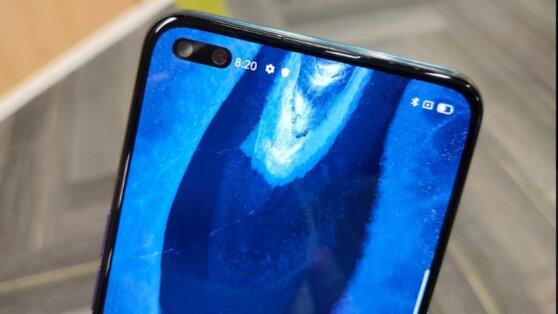 Появилось фото загадочного смартфона с фронтальной камерой на 44 Мп