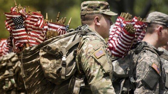 Военные остались в районе Вашингтона