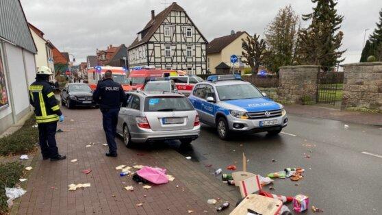 В Германии автомобиль врезался в толпу людей на параде