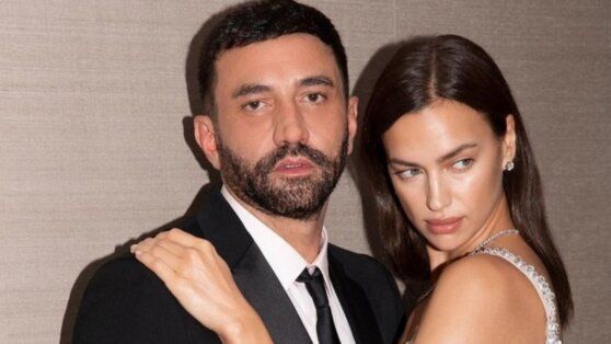 Ирина Шейк с помолвочным кольцом попала в объективы папарацци
