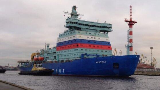 СМИ сообщили о возможной сдаче ледокола «Арктика» со сломанным двигателем