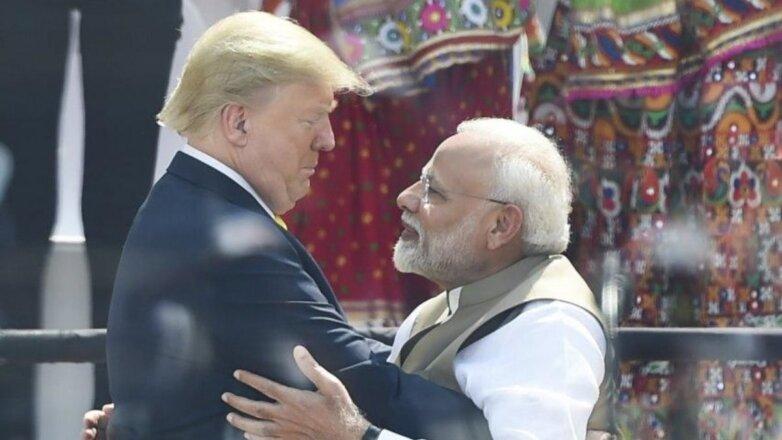 Дональд Трамп и Нарендра Моди