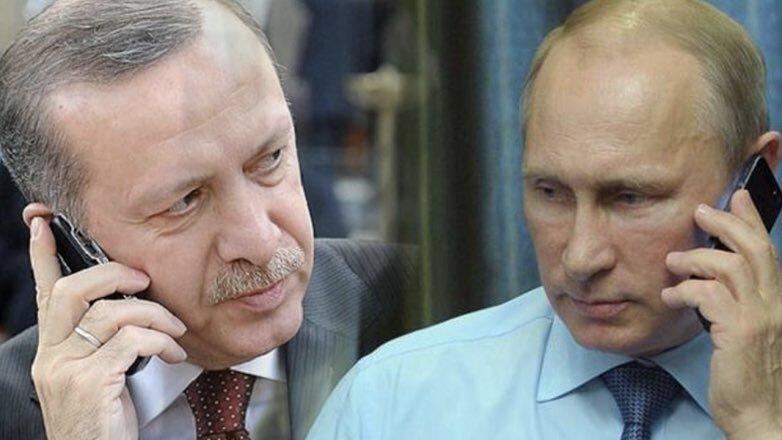 Эрдоган Путин разговор по телефону