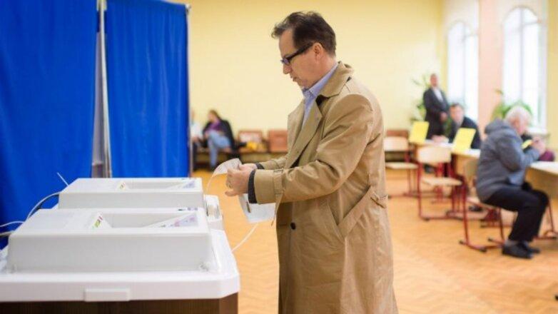 Выборы Россия РФ голосование избиратели бюллетень