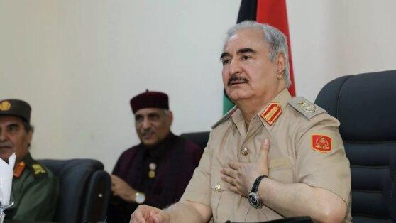 Армия Хафтара уничтожила доставившее в Ливию оружие турецкое судно