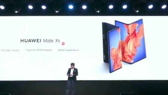 Huawei представила новый 5G-смартфон с гибким экраном