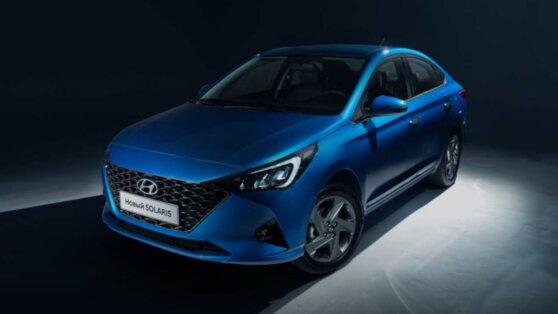 Hyundai презентовала обновленный Solaris