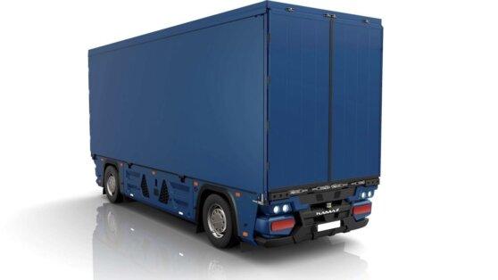 КамАЗ разработал беспилотный грузовик без кабины