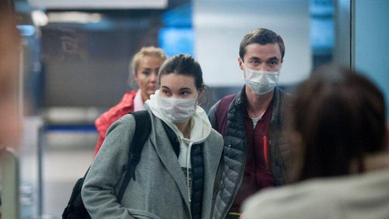Коронавирус аэропорт Россия контроль