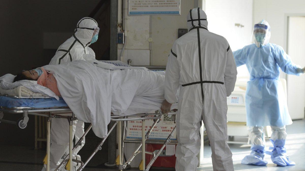 Коронавирус больница врачи карантин